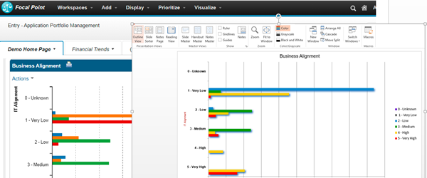 UNICOM® Systems, Inc. releases Focal Point V.7.4.3 with enhanced analytics, data visualization and reporting for project portfolio management